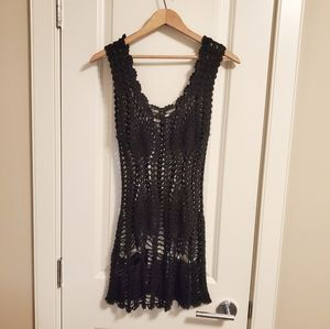 Other - ❤2/15$❤ Crochet Swimwear Cover-up
